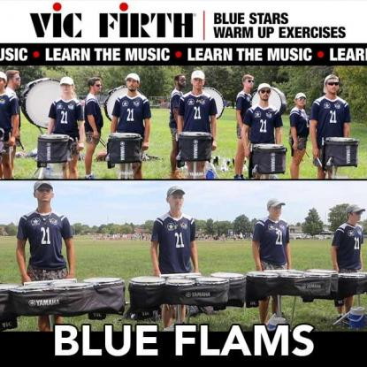 """Learn the Exercises: Blue Stars """"Blue Flams"""""""