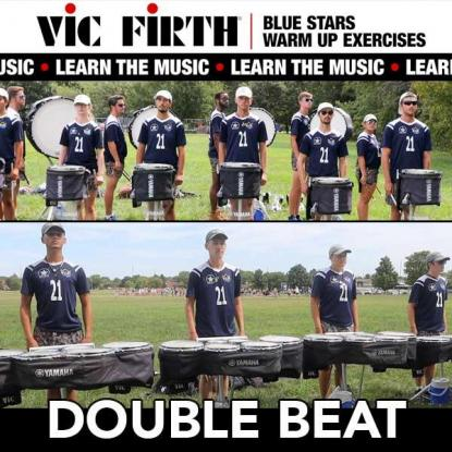"""Learn the Exercises: Blue Stars """"Double Beat"""""""