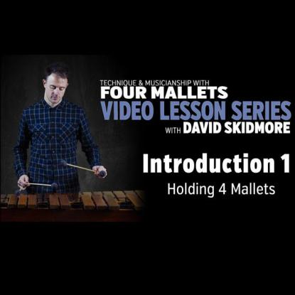 Introduction 1: Gripping the Mallets