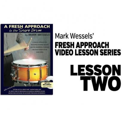 Fresh Approach to Snare Drum: Lesson 2