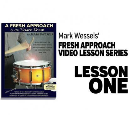 Fresh Approach to Snare Drum: Lesson 1
