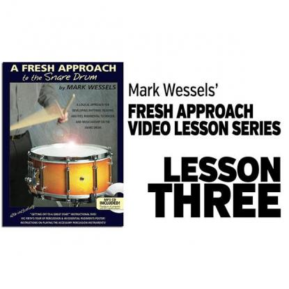 Fresh Approach to Snare Drum: Lesson 3