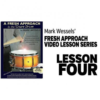 Fresh Approach to Snare Drum: Lesson 4
