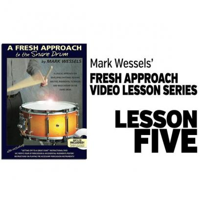 Fresh Approach to Snare Drum: Lesson 5
