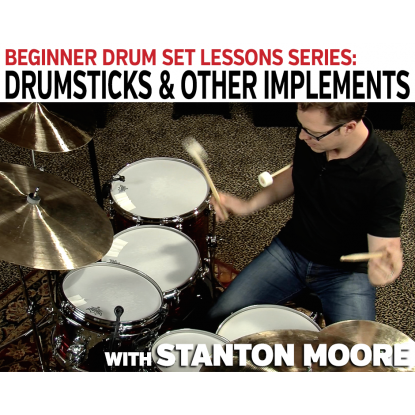 Beginner Drum Set Lessons: 02