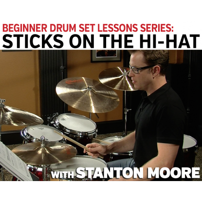Beginner Drum Set Lessons: 08