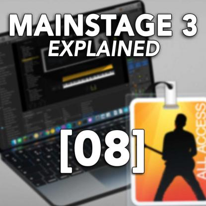 MainStage 3 Explained 08: Channel Strip Inspector & Library