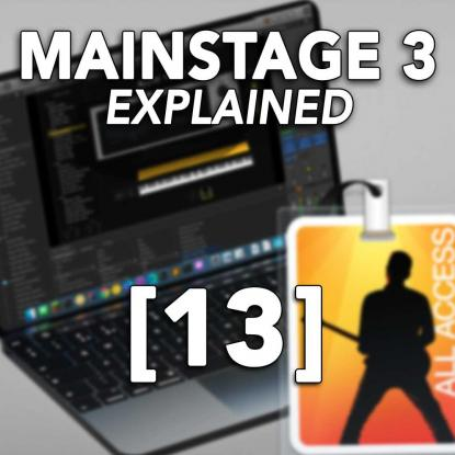 MainStage 3 Explained 13: Sharing Concerts & Creating Templates