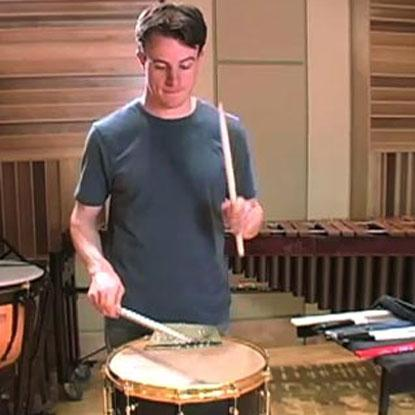 Percussion 101: Concert Snare Drum