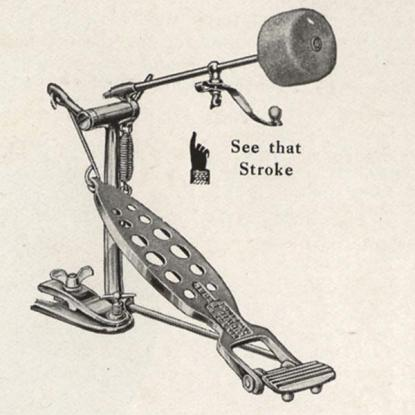 History of the Drumset: Part 3, 1900's - The Bass Drum Pedal