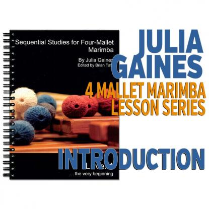 Sequential Studies for 4 Mallet Marimba, Introduction