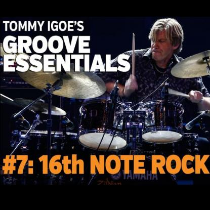 Groove Essentials #7: 16th Note Rock