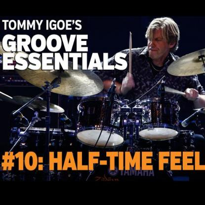 Groove Essentials #10: Half-Time Rock Feel