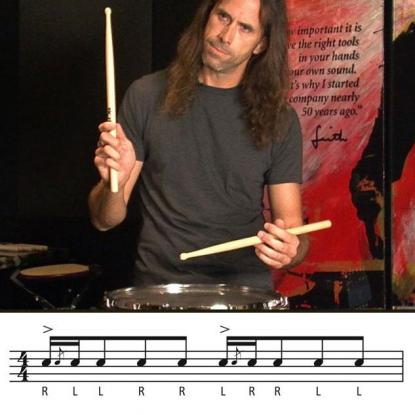 Hybrid Rudiments: Blue Cheese Paradiddle