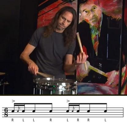 Hybrid Rudiments: Blue Cheese