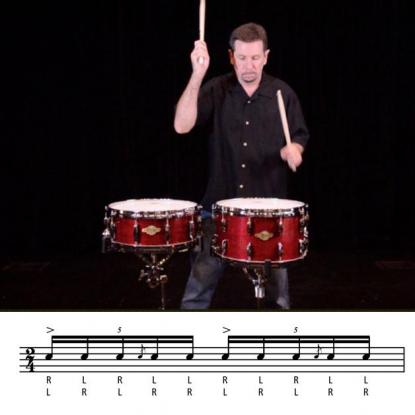 Hybrid Rudiments: Flow Five