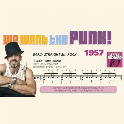 We Want the Funk! 1957 - Straight 8th Note Rock