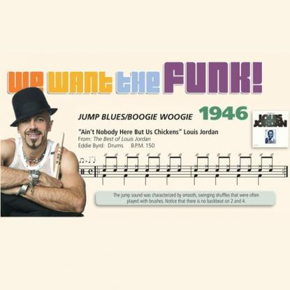 We Want the Funk! 1946 - Jump Blues, Boogie Woogie
