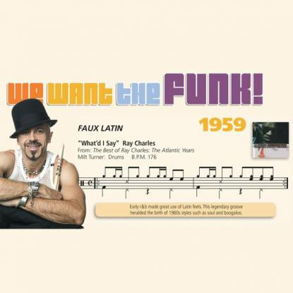 We Want the Funk! 1959 - Faux Latin