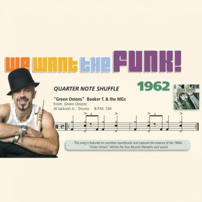 We Want the Funk! 1962 - Quarter Note Shuffle
