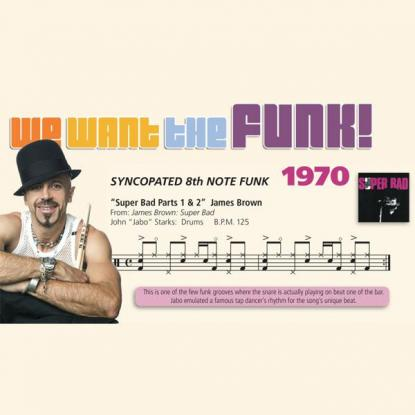 We Want the Funk! 1970 - Syncopated 8th Note Funk #3