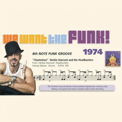 We Want the Funk! 1974 - 8th Note Funk Groove
