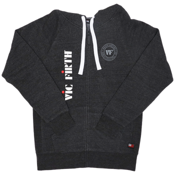 Vic Firth Zip Up Logo Hoodie