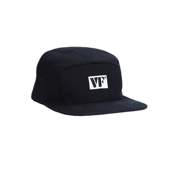 Vic Firth Black 5-Panel Camp Hat