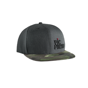 Vic Firth Gray Camo 6-Panel Snapback Hat